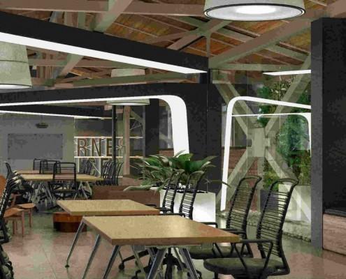 Дизайн интерьера общественных помещений, офисов, магазинов в Краснодаре