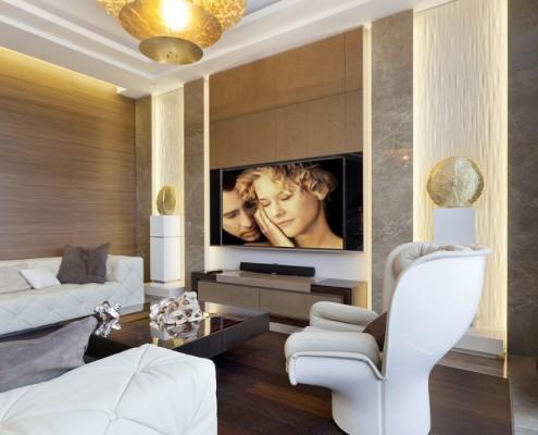 дизайн-проект, жилой интерьер, квартира, современный стиль, арт деко