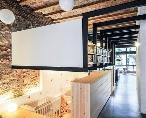 дизайн-проект, жилой интерьер, дом, современный стиль, индустриальный стиль