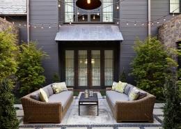 дизайн-проект, жилой интерьер, дом, современный стиль, эклектика
