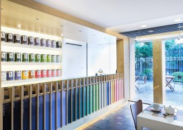 дизайн-проект, коммерческий интерьер, магазин, чайная лавка, современный стиль, экостиль, минимализм