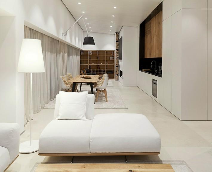 дизайн-проект, жилой интерьер, квартира, этнический стиль, шале