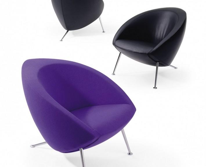 кресло, lounge chair, яркое кресло, artifort