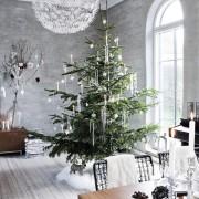 Конструктивизм, Декор, Новогодний декор