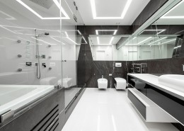 дизайн-проект, жилой интерьер, квартира, современный стиль, конструктивизм, футуристический стиль