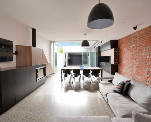 дизайн-проект, жилой интерьер, квартира, современные стили, лофт
