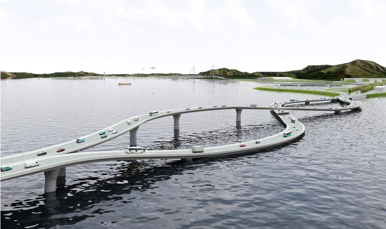 Необычный мост Pearl River Necklace