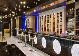 дизайн-проект, коммерческий интерьер, ночной клуб, караоке-холл, ресторан, современный стиль, арт-деко