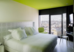 дизайн-проект, коммерческий интерьер, отель, современный стиль, футуристический