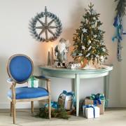 Средиземноморский стиль, Декор, Новогодний декор