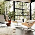 Кресло Eames Lounge and Ottoman, кресло, мебель, дизайн интерьера
