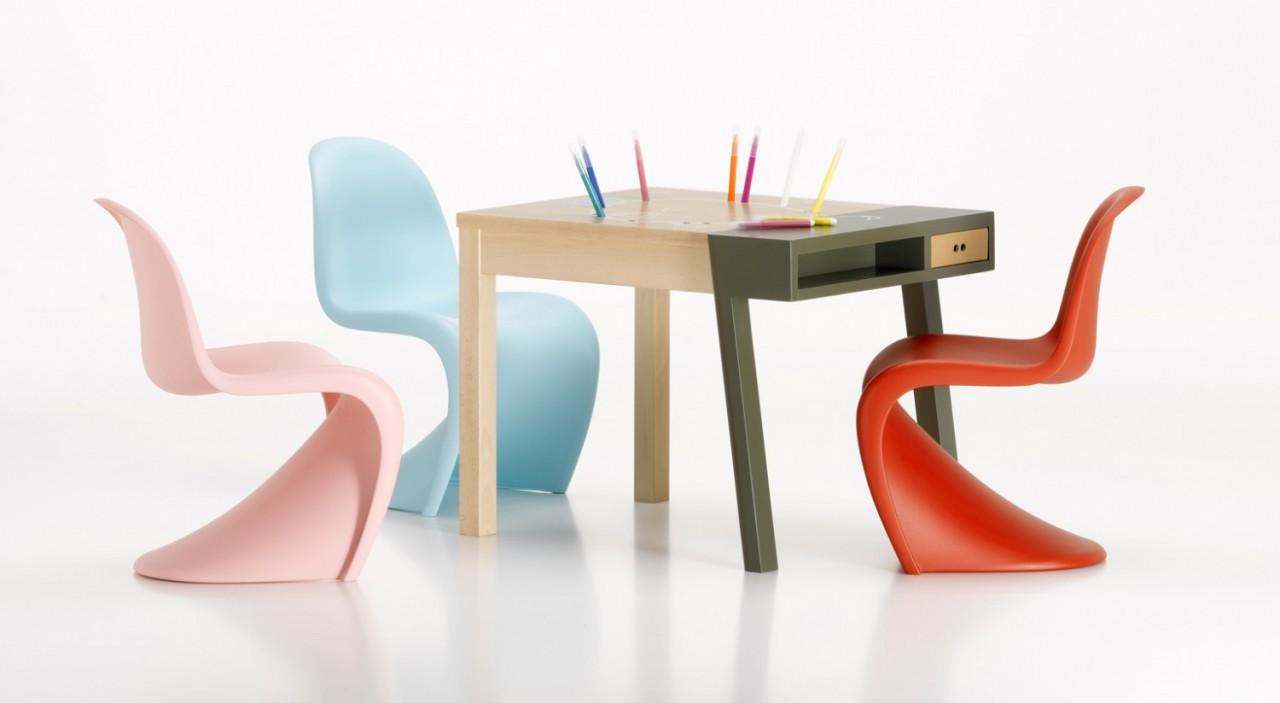 Стул Panton Chair, 1956, мебель, дизайн