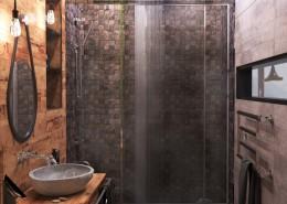 Дизайн интерьера ванной.