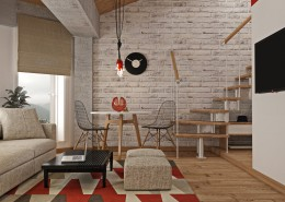 Дизайн-интерьера столовой.