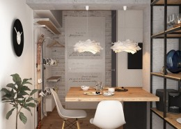 Дизайн-интерьера обеденной зоны.
