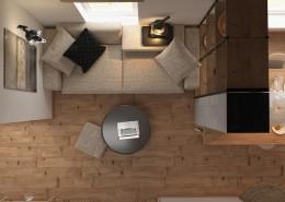 Дизайн-интерьера зала.