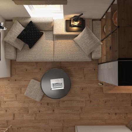 Дизайн-интерьера зала п. Красная поляна от студии FRINO