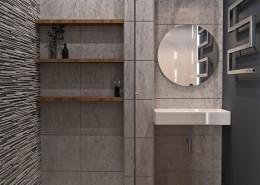 Дизайн-интерьера ванной.