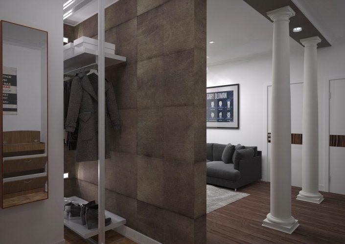 Дизайн интерьера квартиры в г. Москва от студии FRINO