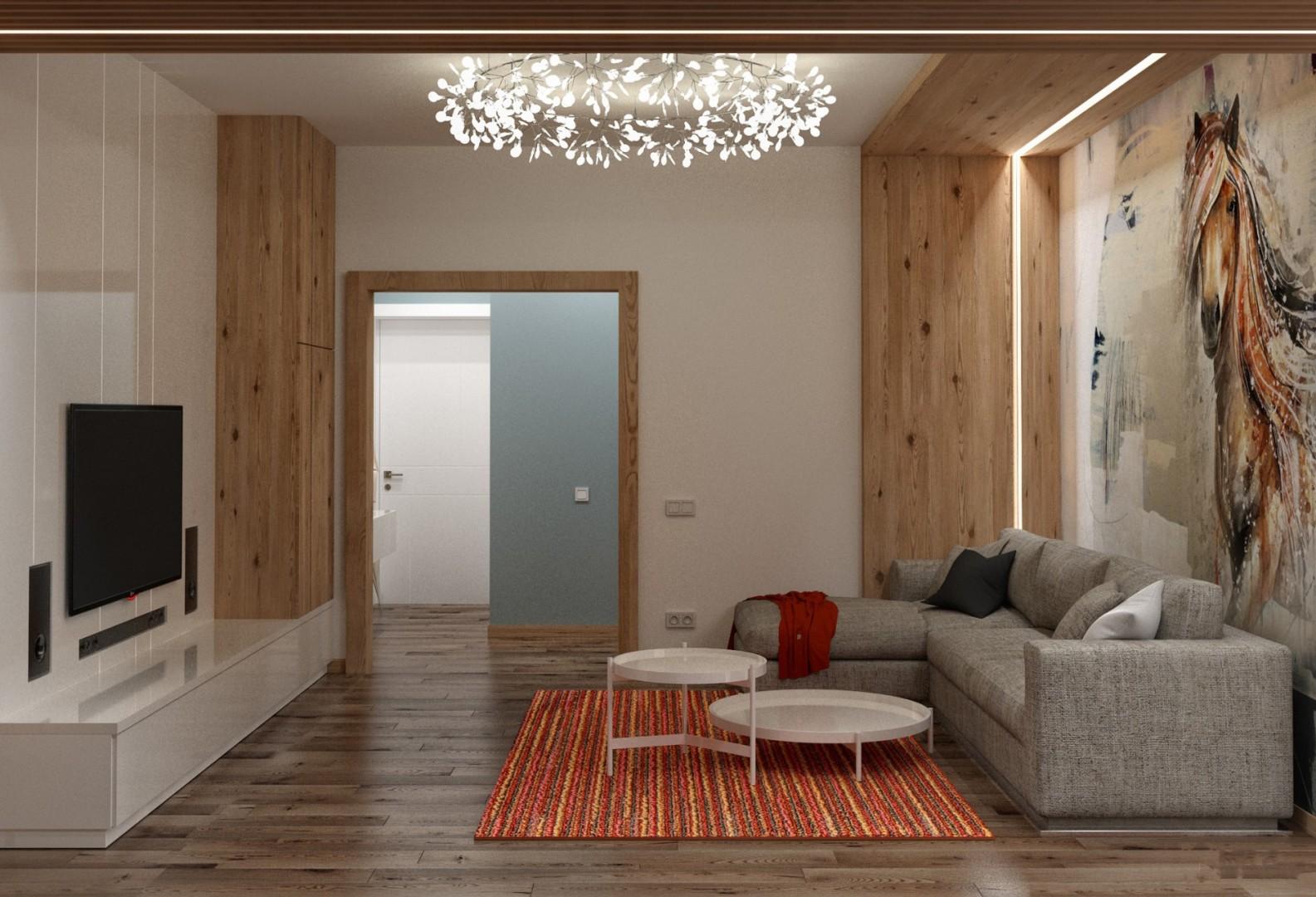 Дизайн проект 3-х комнатной квартиры