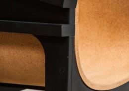 стул, корея, Metafaux, фанера, пробка