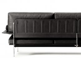 диван, прямой диван, италия, B&B Italia, кожа