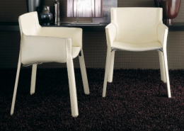 кресло, кресло-стул, кожаное кресло, италия, Fasem, кожа