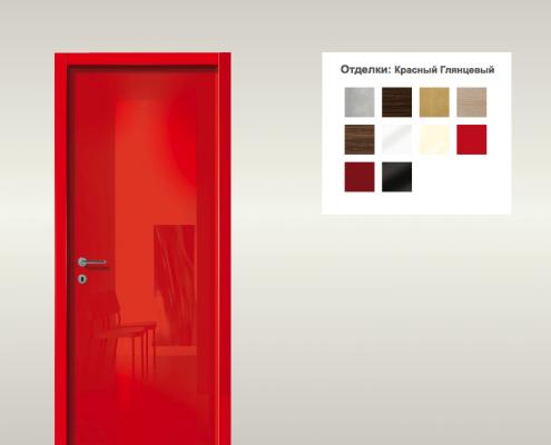 дверь, межкомнатная дверь, италия, Gidea, дерево