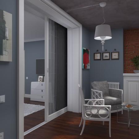 Дизайн интерьера трехкомнатной квартиры в Краснодаре.