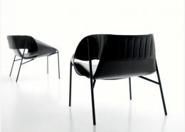кресло, кресло-стул, италия, Fasem, стальной карскас, кожа