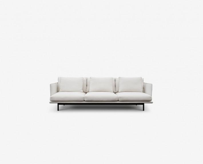 диван, прямой диван, кожаный диван, австралия, Nonn, кожа