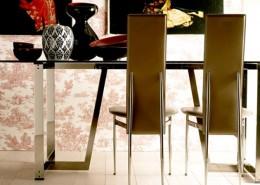 стул, столовый стул, италия, Fasem, стальной карскас, кожа