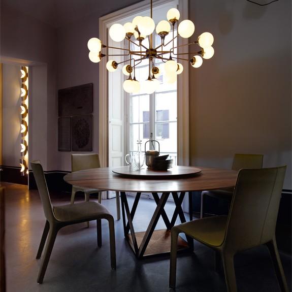 стол, обеденный стол, германия, walter knoll, дерево, lazy susan