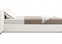 кровать, кровать на скрытом каркасе, германия, walter knoll, кожа, текстиль