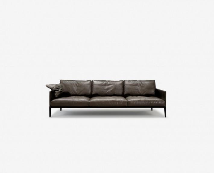 диван, прямой диван, австралия, Nonn, кожа
