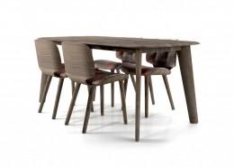 стол, обеденный стол, нидерланды, Moooi, дуб