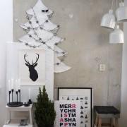 Ахроматический модерн, Декор, Новогодний декор