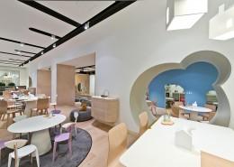 дизайн-проект, коммерческий интерьер, кафе, современный стиль