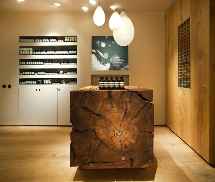 дизайн-проект, коммерческий интерьер, магазин, современный стиль, экостиль