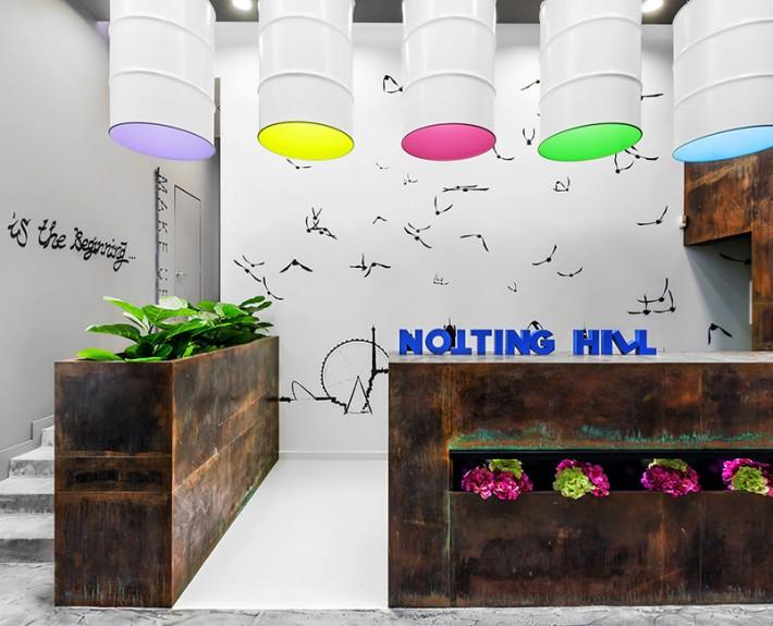 дизайн-проект, коммерческий интерьер, студия, современный стиль, эклектика