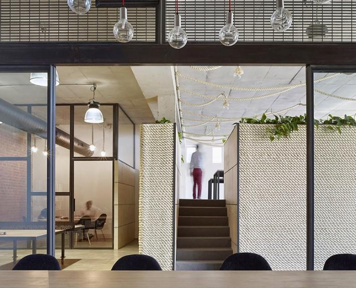 изайн проект, коммерческий интерьер, офис, современный стиль, лофт