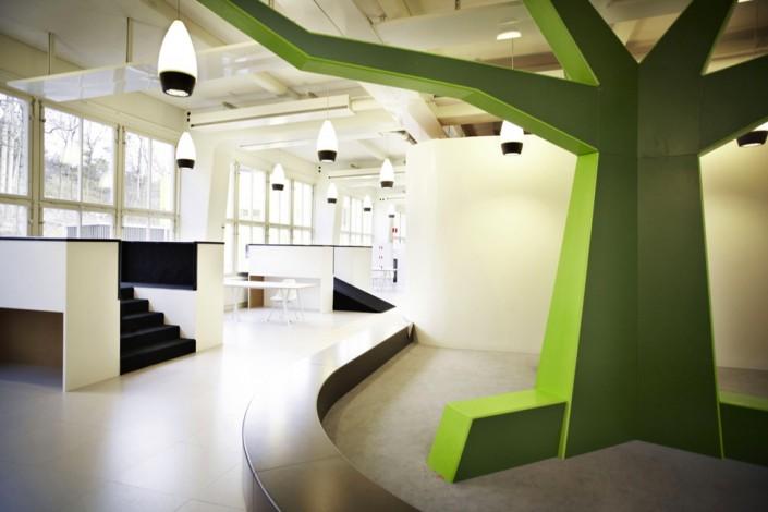 дизайн-проект, коммерческий интерьер, школа, современный стиль