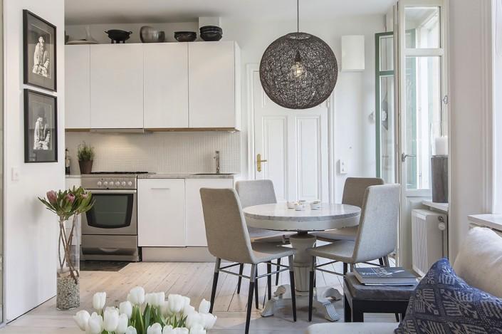 дизайн-проект, жилой интерьер, квартира, студия, этнические стили, скандинавский стиль