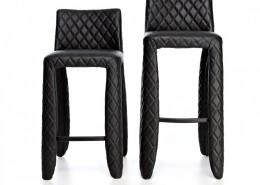 стул, барный стул, необычный стул, дизайнерский стул, нидерланды, Moooi, кожа