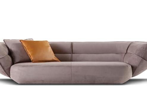 диван, кожаный диван, франция, roche bobois