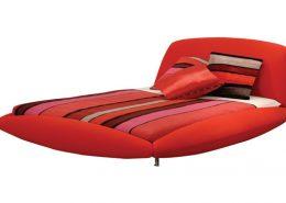круглая кровать, оригинальная кровать, франция, roche bobois