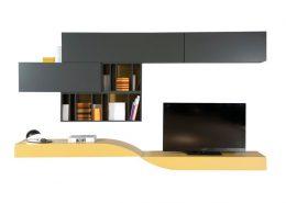 модульная система, гостиная, франция, roche bobois