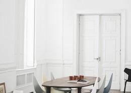 стол, обеденный стол, дания, fritz hansen