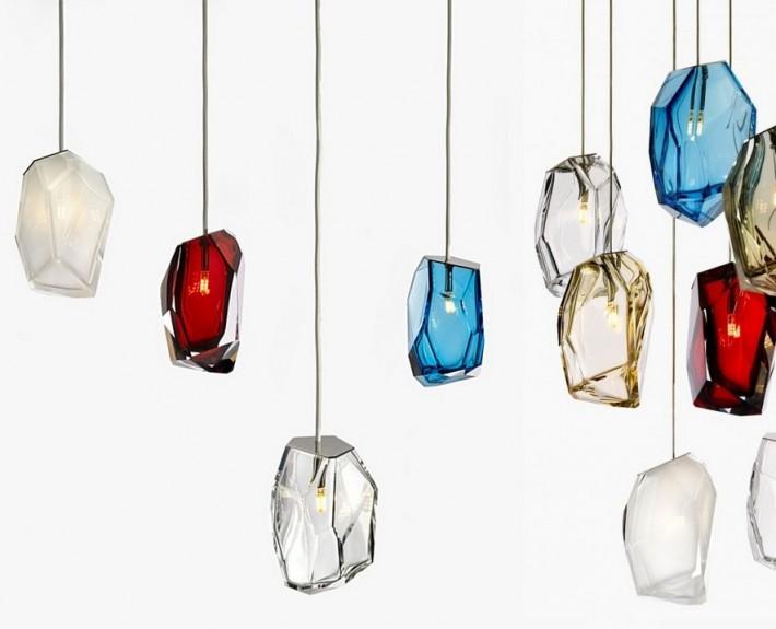 дизайнерские лампы, bohemia, lasvit, чехия