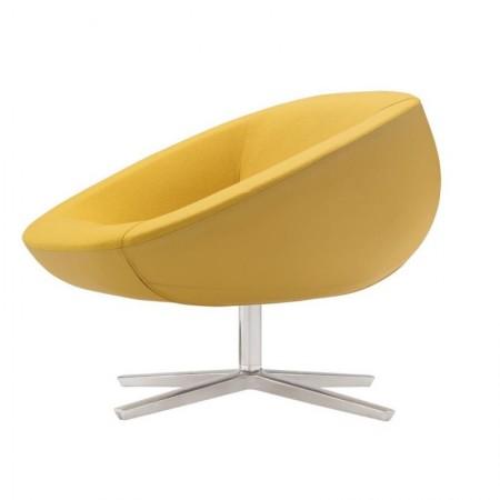 кресло, lounge-кресло, круглое кресло, дизайнерское кресло, испанская мебель, Andreu World, дизайнерская мебель